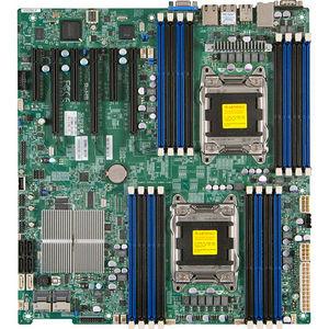 Supermicro MBD-X9DRI-F-B X9DRi-F Server Motherboard - Intel C602 Chipset - Socket R LGA-2011 - Bulk