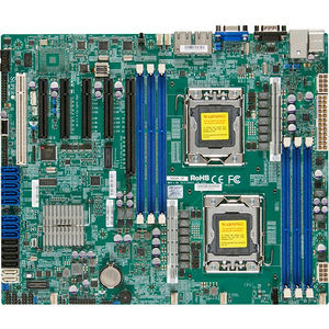 Supermicro MBD-X9DBL-3F-O Server Motherboard - Intel C606 Chipset - Socket B2 LGA-1356 - Retail