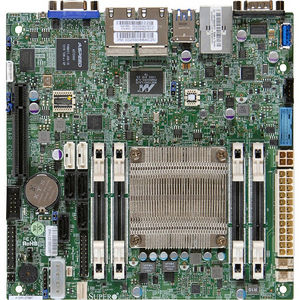 Supermicro MBD-A1SAI-2550F-B Server - Intel Chipset - Socket BGA-1283 - Atom C2550 4 Core 2.40 GHz