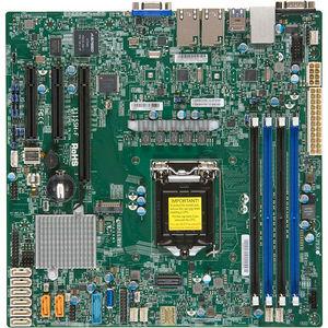 Supermicro MBD-X11SSH-F-O Server Motherboard - Intel C236 Chipset - Socket H4 LGA-1151 - Retail