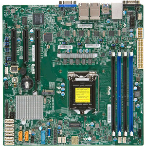Supermicro MBD-X11SSH-LN4F-O Server Motherboard - Intel C236 Chipset - Socket H4 LGA-1151 - Retail
