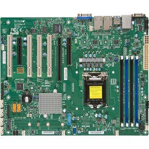 Supermicro MBD-X11SSA-F-O Desktop Motherboard - Intel C236 Chipset - Socket H4 LGA-1151 - Retail
