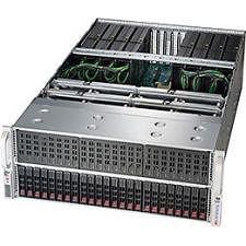 Supermicro SYS-4028GR-TRT 4U Rackmount Barebone - Intel C612 - 2X Socket R LGA-2011 - 8X GPU