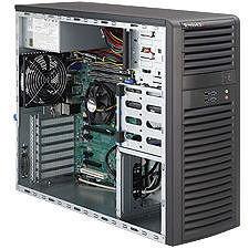 Supermicro SYS-5037A-IL Mid-tower Barebone - Intel C216 Chipset - Socket H2 LGA-1155 - 1 x CPU