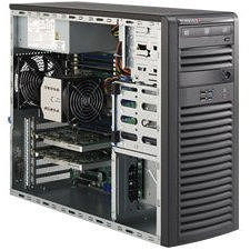 Supermicro SYS-5037A-I Mid-tower Barebone - Intel C602 Chipset - Socket R LGA-2011 - 1x CPU Support