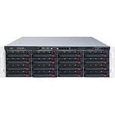 Supermicro SSG-6037R-E1R16L Barebone System - 3U - Intel C602J Chipset - Socket R LGA-2011 - 2x CPU