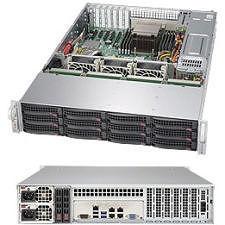 Supermicro SSG-5028R-E1CR12L 2U Rackmount Barebone - Intel C612 Chipset - LGA 2011-v3 - 1 x CPU
