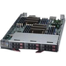 Supermicro SBI-7127R-S6 Barebone System Blade - Intel C602 Chipset - Socket R LGA-2011 - 2 x CPU