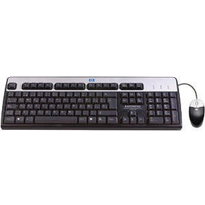 HP 631341-B21 USB BFR with PVC Free US Keyboard/Mouse Kit
