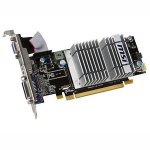 MSI R5450-MD1GD3H/LP Radeon 5450 Graphic Card - 1 GB DDR3 SDRAM