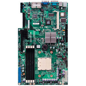 Supermicro MBD-H8SMU-O Server Motherboard - NVIDIA Chipset - Socket AM2 PGA-940 - Retail Pack