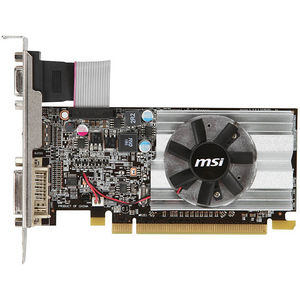 MSI R6450-MD1GD3/LP Radeon HD 6450 Graphic Card - 625 MHz Core - 1 GB DDR3 SDRAM - PCIE 2.1 x16