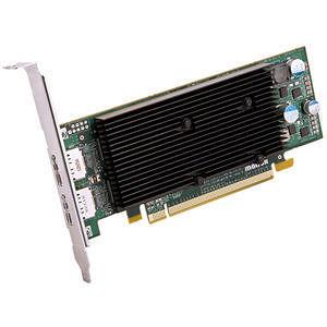 Matrox M9128-E1024LAF M9128 Graphic Card - 1 GB DDR2 SDRAM - PCI Express x16 - Low-profile