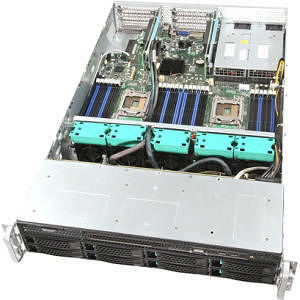Intel R2308GZ4GCIOC 2U Rackmount Server Barebone - Socket R LGA-2011 - 2 x Processor Support