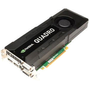 PNY VCQK5000-PB Quadro K5000 Graphic Card - 4 GB DDR5 SDRAM - PCI Express 3.0