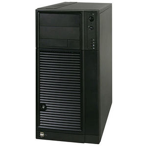 Intel SC5650BCDPRNA Barebone System Mini-tower - 5500 Chipset - Socket B LGA-1366 - 2 x CPU