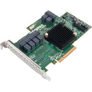 Adaptec 2274900-R RAID 72405 SGL; SUPPORTS RAID 0, 1, 1E, 5, 6, 10, 50, 60; HALF LENGTH-FU