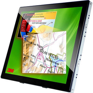 "3M 98-0003-4097-0 C1910PS 19"" LCD Touchscreen Monitor - 5:4 - 5 ms"