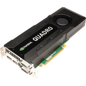 PNY VCQK5000MAC-PB Quadro K5000 Graphic Card - 4 GB DDR5 SDRAM - PCI Express 3.0