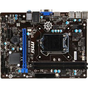 MSI B85M-E33 Desktop Motherboard - Intel Chipset - Socket H3 LGA-1150
