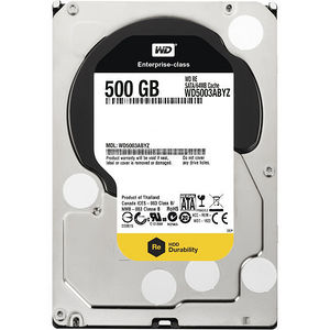 "WD WD5003ABYZ RE 500 GB 3.5"" Internal Hard Drive"
