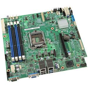 Intel BBS1200V3RPO Server Motherboard - C224 Chipset - Socket H3 LGA-1150 - 10 x OEM Pack