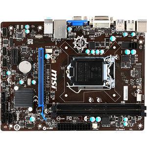 MSI H81M-P33 Desktop Motherboard - Intel Chipset - Socket H3 LGA-1150