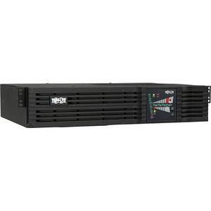 Tripp Lite SU1500RTXL2UN UPS Smart Online 1500VA 1200W Rackmount 100V-120V USB DB9 SNMPWEBCARD 2URM