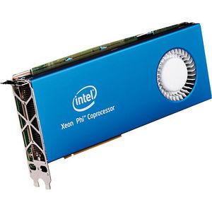 Intel SC7120P Xeon Phi 7120P 61 Core 1.24 GHz Coprocessor - PCI Express x16 OEM Pack
