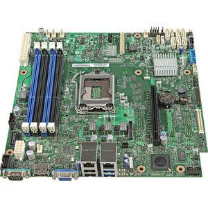 Intel DBS1200V3RPM S1200V3RPM Server Motherboard - Chipset - Socket H3 LGA-1150 - 5 Pack