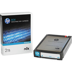 "HP Q2046A 2 TB 2.5"" RDX Technology Hard Drive Cartridge - Removable"