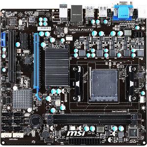 MSI 760GMA-P34 (FX) 760GMA-P34 (FX) Desktop Motherboard - Intel Chipset - Socket AM3+