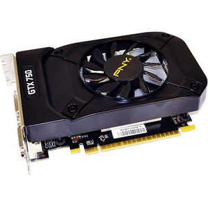 PNY VCGGTX7501XPB GeForce GTX 750 Graphic Card - 1.02 GHz Core - 1 GB GDDR5 - PCI-E 3.0 x16