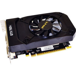 PNY VCGGTX750T2XPB GeForce GTX 750 Ti Graphic Card - 1.02 GHz Core - 2 GB GDDR5 - Dual Slot