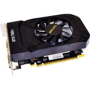 PNY VCGGTX750T2XPB-OC GeForce GTX 750 Ti Graphic Card - 1.20 GHz Core - 2 GB GDDR5 - Dual Slot