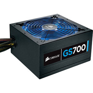 "Corsair CP-9020064-NA GS Series GS700 - 80 PLUS Bronze Certified 700W Power Supply ""2013 Edition"""