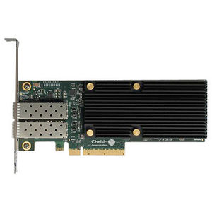 Chelsio T520-LL-CR 2-port Low Latency Low Pro 1/10GbE UWire Adapter w/ PCI-E x8 Gen 3, 32K conn.