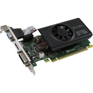EVGA 01G-P3-3731-KR GeForce GT 730 Graphic Card - 902 MHz Core - 1 GB GDDR5 - PCIE 2.0 x16 - LP