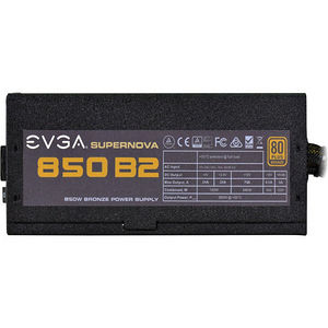 EVGA 110-B2-0850-V1 SuperNOVA 850 B2 Power Supply