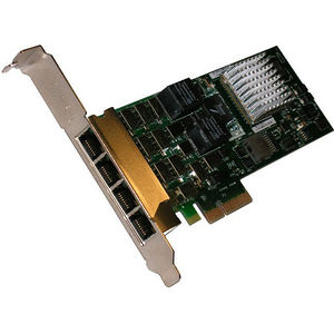 Chelsio B404-BT High Performance, Quad Port 1GbE Bypass Server Adapter