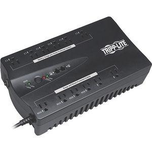 Tripp Lite ECO900UPSM UPS 900VA 480W Eco Green Battery Back Up Muted Alarm 120V 12 Outlet USB RJ11