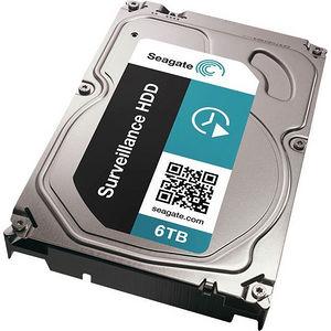 """Seagate ST6000VX0001 Surveillance 6 TB 3.5"""" 128MB Internal Hard Drive - SATA"""
