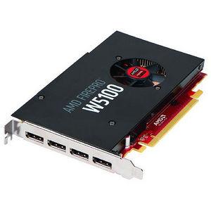 AMD 100-505737 FirePro W5100 Graphic Card - 930 MHz Core - 4 GB GDDR5 - PCI-E 3.0 - Single Slot