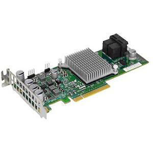 Supermicro AOC-S3008L-L8I 12Gb/s Eight-Port SAS Internal RAID Adapter