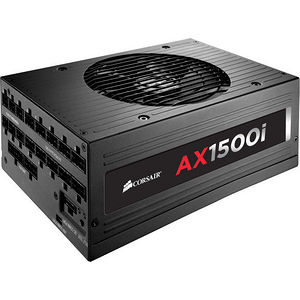 Corsair CP-9020057-NA AX1500i Digital ATX Power Supply - 1500 Watt Fully-Modular PSU