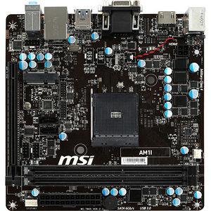 MSI AM1I Desktop Motherboard - AMD Chipset - Socket AM1