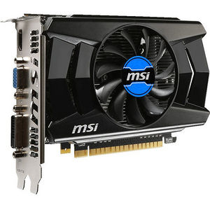 MSI N740-2GD5 GeForce GT 740 Graphic Card - 1.01 GHz Core - 2 GB GDDR5 - PCI-E 3.0 x16 - Dual Slot