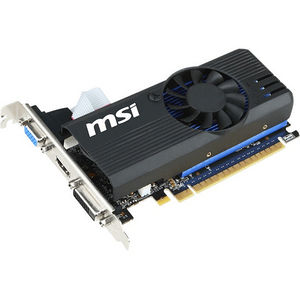MSI N730K-1GD5LP/OC GeForce GT 730 Graphic Card - 1.01 GHz Core - 1 GB GDDR5 - PCIE 2.0 x16 - LP