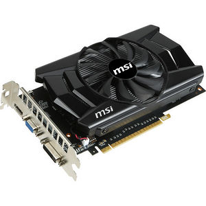MSI N750-1GD5/OC GeForce GTX 750 Graphic Card - 1.06 GHz Core - 1 GB GDDR5 - PCI Express 3.0 x16