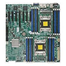 Supermicro MBD-X9DRH-IFNV-B Server Motherboard - Intel C602 Chipset - Socket R LGA-2011 - Bulk